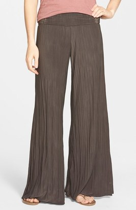 Women's Nic+Zoe 'Feel Good' Foldover Waist Textured Knit Pants $118 thestylecure.com