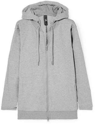 adidas by Stella McCartney Essentials French Cotton-blend Terry Hoodie - Gray