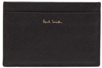 Paul Smith Mini Cooper Stripe Leather Cardholder - Mens - Green Multi