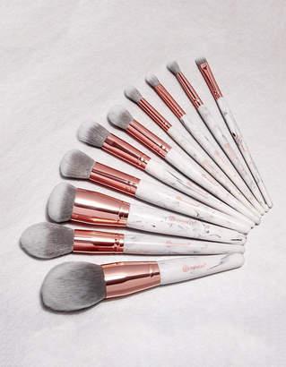 Bh Cosmetics 10 Piece Marble Luxe Brush Set