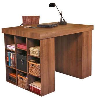 "Venture Horizon Project Center 38.5"" H x 55"" W Desk with 2 Bookcases"