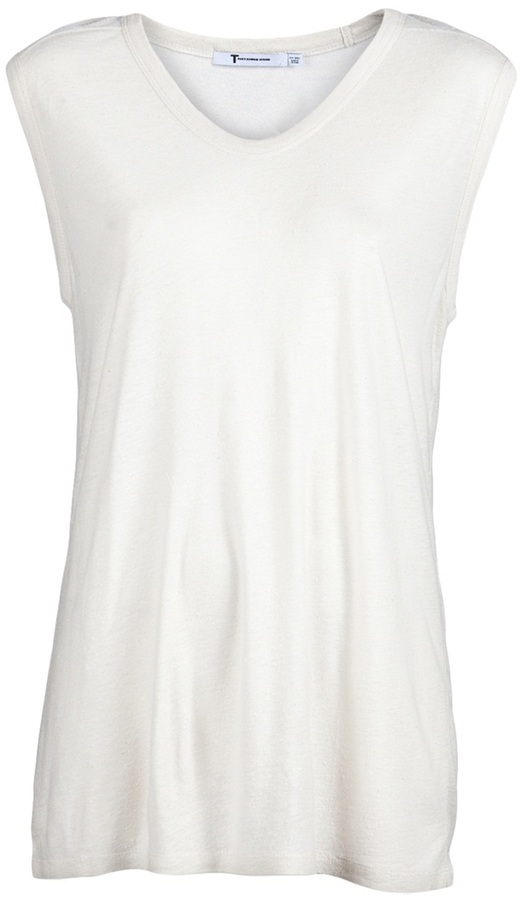 T By Alexander Wang CLASSIC MUSCLE T-SHIRT