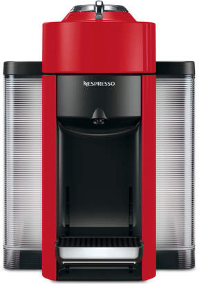 Nespresso Evoluo Coffee and Espresso Maker by De'Longhi, Red