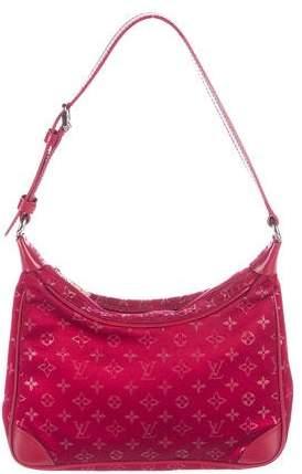 Louis Vuitton Monogram Satin Mini Boulogne Bag