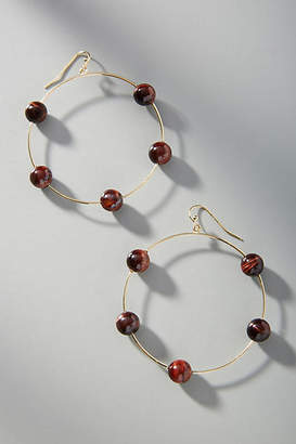 Anthropologie Jada Hoop Earrings