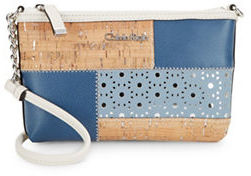 Calvin Klein Calvin Klein Patchwork Leather Crossbody