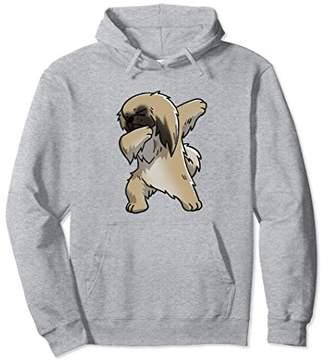 Funny Dabbing Cartoon Pekingese Birthday Gift Dog Hoodie