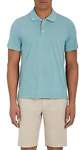 Piattelli MEN'S COTTON PIQUÉ POLO SHIRT - LT. GREEN SIZE XL