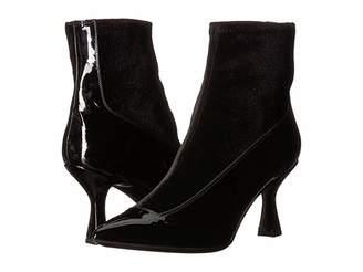 Racine Carree Velvet Sock Heel