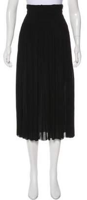 A.L.C. Ruched Midi Skirt