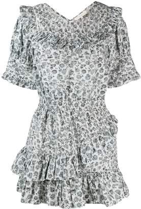 LoveShackFancy Love Shack Fancy short Floreen dress