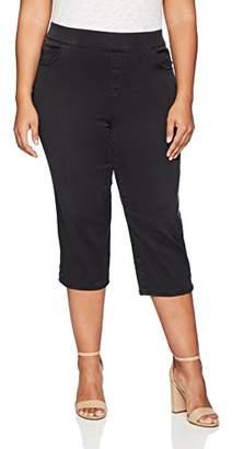 Gloria Vanderbilt Women's Plus Size Avery Pull On Capri
