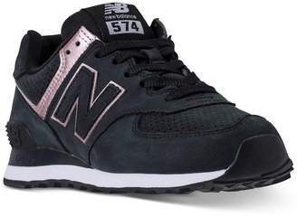 30208aa67011 New Balance Women 574 Rose Gold Casual Sneakers from Finish Line