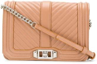Rebecca Minkoff small Chevron Quilted Love cross body bag