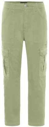 3x1 Alana mid-rise cropped cargo pants