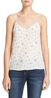 Women's Equipment Layla Floral Silk Camisole $108 thestylecure.com