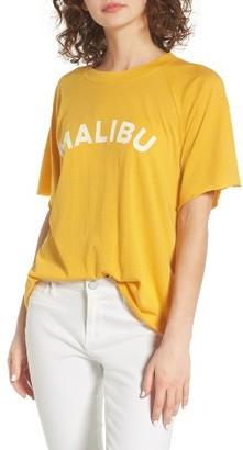 Women's Rebecca Minkoff Malibu Lombardo Graphic Tee $58 thestylecure.com