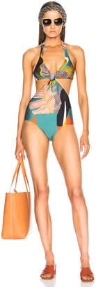 Adriana Degreas Bahiana Cutout Swimsuit