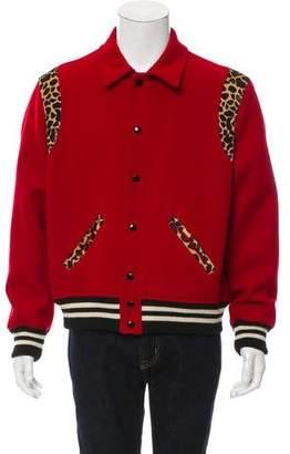 Saint Laurent Teddy Wool Jacket