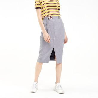 Tommy Hilfiger Houndstooth Pencil Skirt