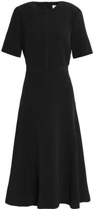 Dion Lee Fluted Crepe Midi Dress