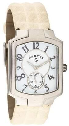 Philip Stein Teslar Classic Square Watch
