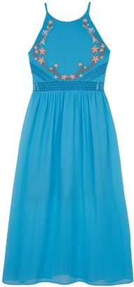 Amy Byer Iz Girls 7-16 IZ Embroidered Maxi Dress