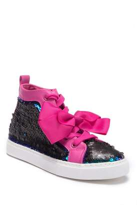 aa37877c369 Jo-Jo JOJO SIWA Reverse Sequin High Top Sneaker (Little Kid   Big Kid
