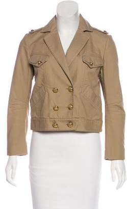 3.1 Phillip Lim Double-Breasted Cropped Jacket
