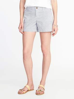 "Old Navy Mid-Rise Twill Shorts for Women (5"")"