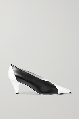 Givenchy Two-tone Leather Pumps - Black