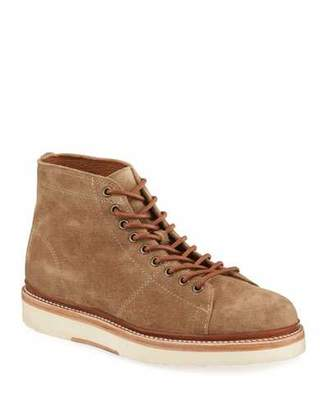 Frye Men's Bryant Suede Lace-Up Ankle Boots