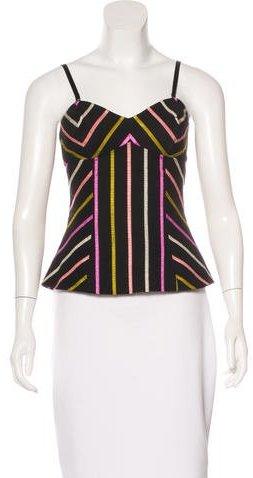 Trina Turk Striped Sleeveless Top