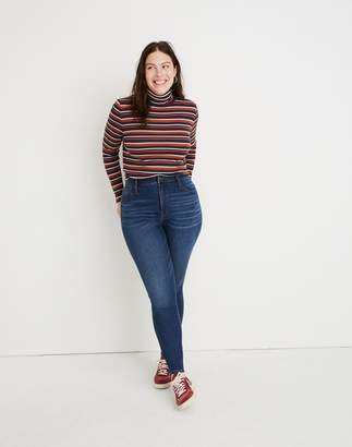 Madewell Tall Curvy High-Rise Skinny Jeans in Tarren Wash: THERMOLITE Edition