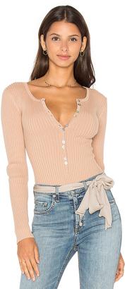 MAJORELLE Lariat Bodysuit $120 thestylecure.com