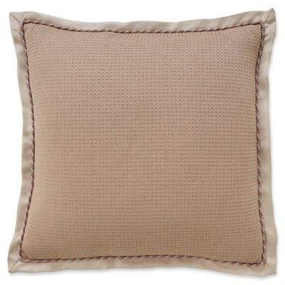 Anguilla European Pillow Sham in Taupe