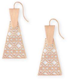 Kendra Scott Keerti Filigree Small Drop Earrings