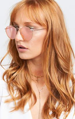 Show Me Your Mumu Crap Eyewear ~ Tuff Safari ~ Brushed Rose Gold with Rose Gold Mirror Lenses