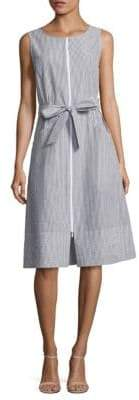 Lafayette 148 New York Karizza Pinstripe Sundress