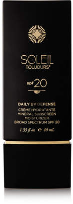 Soleil Toujours Spf20 Daily Moisturizer For Face, 40ml - Colorless