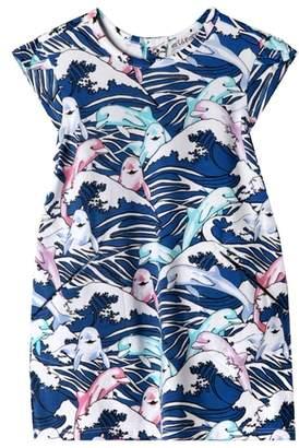 art & eden Ivy Great Wave Dress