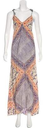 Twelfth Street By Cynthia Vincent Printed Maxi Dress