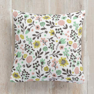 Summer Garden Square Pillow