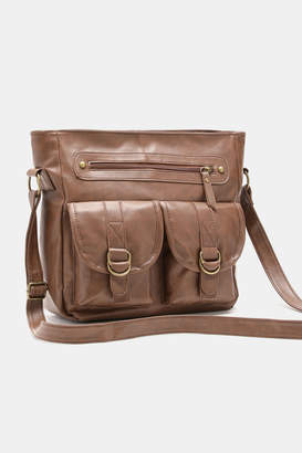 Ardene Buckle Pocket Crossbody Bag