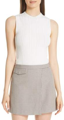 Theory Pointelle Knit Shell