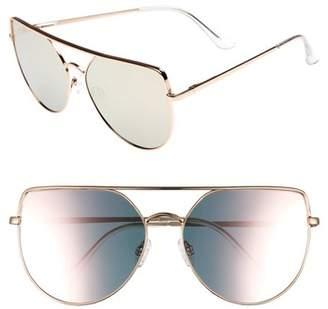 Leith 60mm Aviator Sunglasses