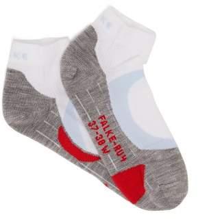 Falke Ru4 Cushioned Running Socks - Womens - White Multi