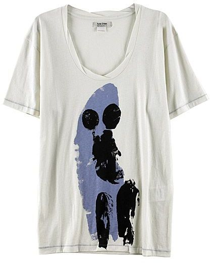 Acne Jeans Level Print Jersey