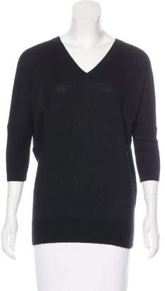 Derek Lam Dolman Sleeve V-Neck Sweater