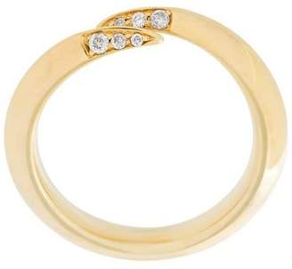 Shaun Leane 'Signature Tusk' diamond wrap ring